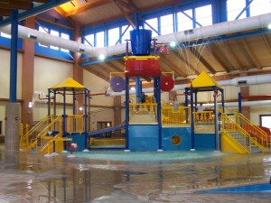 New waterpark at the Wingate Hotel in Billings, MT